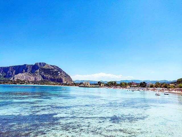 Breathless, simply Mondello Beach•••#beach #bluewater #blue #bluesea #Palermo #sicily#cruising #cruise #crew #sailing #travel #traveling #traveler #instatravel #instapassport #instatraveling #travelgram #travelingram #igtravel #travelblog #sea #travelstoke
