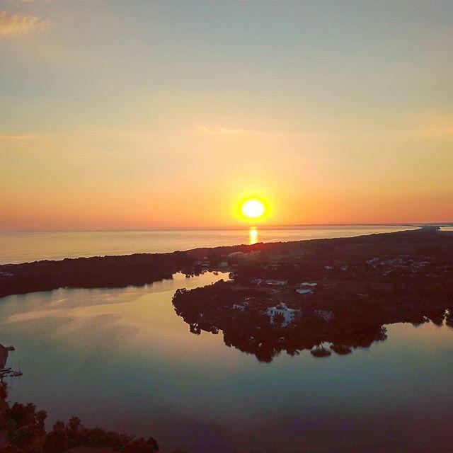 The exactly moment when the sun burn away •••#sabaudia #lake #sea #sunset #djimavic #drone #igersitalia #igerslatina  #nature #nature_lovers #nature_brilliance #naturephotography #natureshots #outdoors #nature_good #getoutside #earthgallery #tree_magic #tree #natureworld_photography #beautyofnature #in2nature #ig_naturelovers #ig_nature #natureswonder #ig_naturevibes #naturegram #mothernature