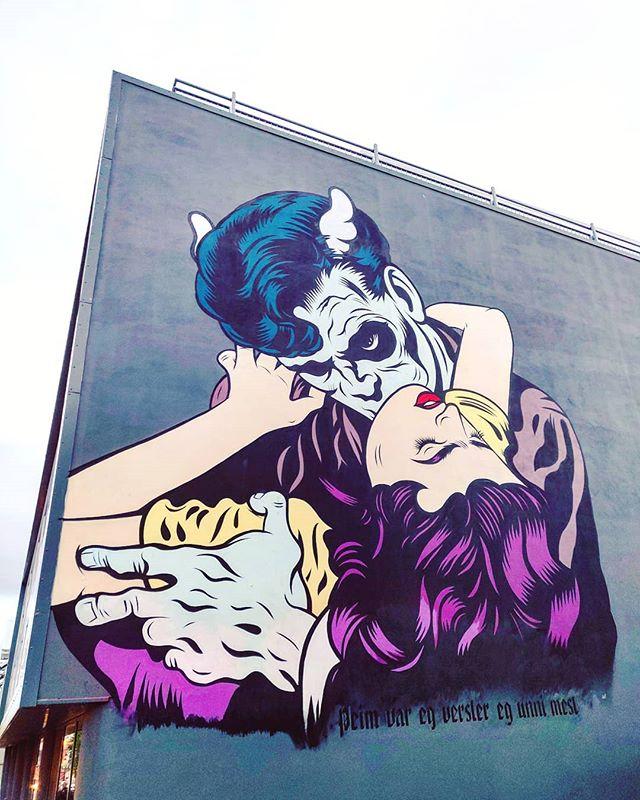 Vampire bite •••#reykjavík #iceland #murales #streetart #polarcircle cruising #cruise #crew #sailing #sailor #lifeatsea #travel #travelling #traveler #instatravel #trip #lifeofadventure #instapassport #instatraveling #mytravelgram #travelgram #travelingram #igtravel #instalife #ig_worldphoto #traveling #travelblog #instago #travelstoke