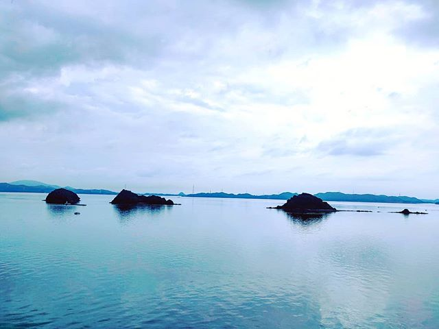 Blue mood  ️•••#yatsushiro #japan #maidirebanzai cruising #cruise #crew #sailing #sailor #lifeatsea #travel #travelling #traveler #instatravel #trip #lifeofadventure #instapassport #instatraveling #mytravelgram #travelgram #travelingram #igtravel #instalife #ig_worldphoto #traveling #travelblog #instago #travelstoke