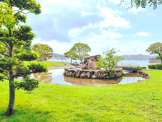 The enchants could be there, behind the corner, just looking for•••#sasebo #park #green #maidirebanzai #japan  #travel #travelling #traveler #instatravel #wanderlust #trip #lifeofadventure #doyoutravel #instapassport #instatraveling #mytravelgram #travelgram #travelingram #travelstoke #traveling #travelblog #instago
