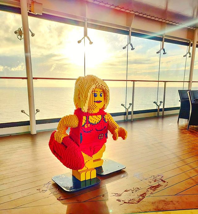The best lifeguard of ever •••#mscsplendida #msccruises #msccrociere #lego #sunset cruising #cruise #crew #sailing #sailor #lifeatsea #travel #travelling #traveler #instatravel #trip #lifeofadventure #instapassport #instatraveling #mytravelgram #travelgram #travelingram #igtravel #instalife #ig_worldphoto #traveling #travelblog #instago #travelstoke