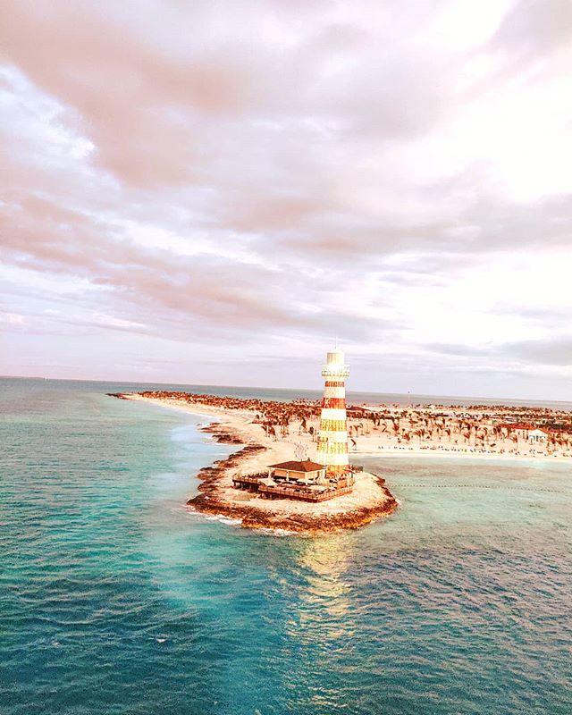 Good Morning Ocean Cay! 🏝️ #oceancay #msccruises #mscmarinereserve #bahamas #cruiseship #islandlife #cruise #travelholic #traveling #sunrise #travelblog #island #traveladdict #travelphoto #travelphotography #sunrise #travel #travelpics #lighthouse #traveller #travelstoke #traveler #travellife #travelling #travelawesome #cruiser #travelgram #travelingram #travels
