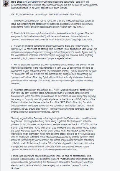 Rob Skiba's Faith Statement the Mark of a Cult — Logos Apologia