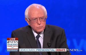 Senator Bernie Sanders apologizing for staff hacking Hillary Clinton's donor list