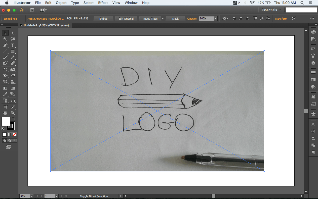 Turn a drawing into vector art [How to] - Logotypers