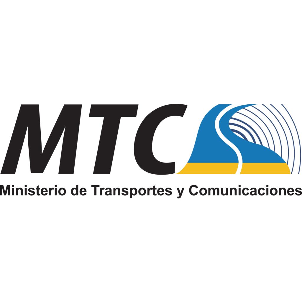 Resultado de imagen para Ministerio de Transportes y Comunicaciones (MTC)