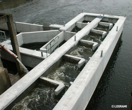 Passe à poissons de Châtellerault
