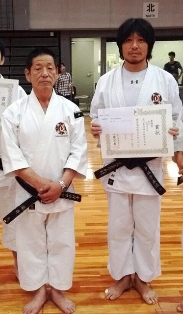 恩師の瀧井滋先生と。