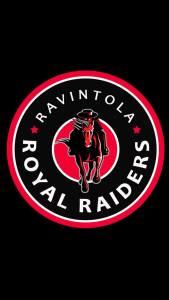 Royal Raiders lounaslista Vk 38