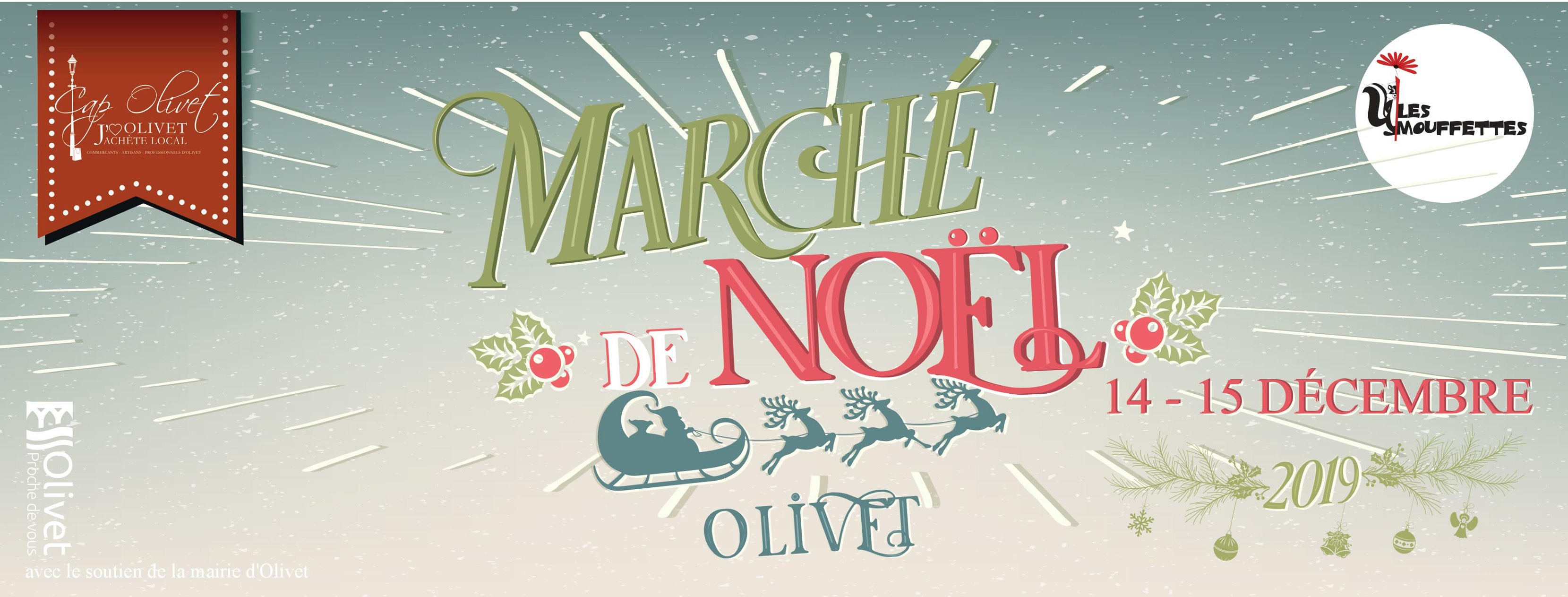 Marché Noel OLIVET