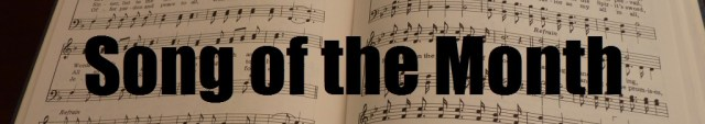 Song of the month header 1