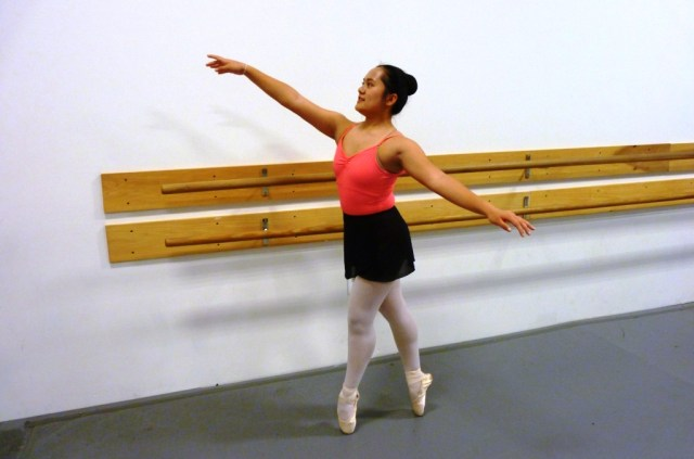 The ability to stand taller, at least in certain settings, was a strong motivator as Lilly worked to earn her pointe shoes in ballet this past year. She achieved her goal, and now dances en pointe with pride, grace and a few extra inches.