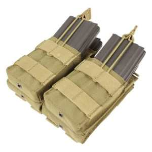CONDOR MA43-003 Double Stacker M4/M16 Mag Pouch Coyote Tan