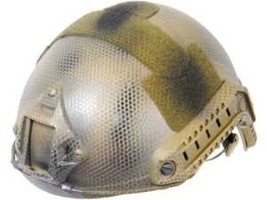 Lancer Tactical CA-726N FAST Helmet MH Type Custom Color (Navy Seal/Dark Earth) by Lancer Tactical