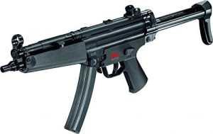 Mitraillette airsoft Heckler & Koch – Arme airsoft de série MP5 A5 – Puissance de tir en dessous de 0,5 Joule