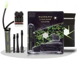 Pack Batterie Airsoft Lipo 7,4 V 1400mah
