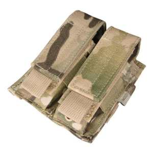 CONDOR MA23-008 Double Pistol Mag Pouch MultiCam