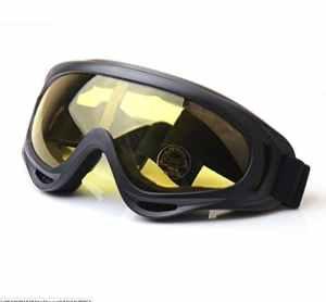 Fletion Lunettes de vélo Lunettes de soleil Windproof Anti-Sandstorm pour Lunettes Sports de plein air Mountain Bike Moto Motoneige Ski Goggles Lunettes Sport Sécurité de protection pour Hommes Femmes
