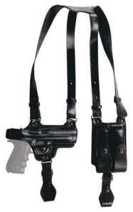 Tagua SH4-420 Full Slide Shoulder Holster, Sig Sauer P229/P228, Black, Right Hand by Pro-Motion Distributing – Direct