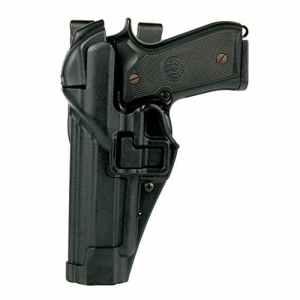 Holster BLACKHAWK Duty P2000 / USP-Compact -Farbe, Seite: Schwarz, Links