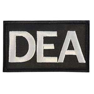 US DEA Federal Agency Drug Enforcement Police Embroidered Sew Thermocollant Écusson Patch