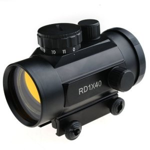 Generic Tactical Hunting Weaver Optic Sight Red Dot Riflescope with Specification of 1X40mm RD40