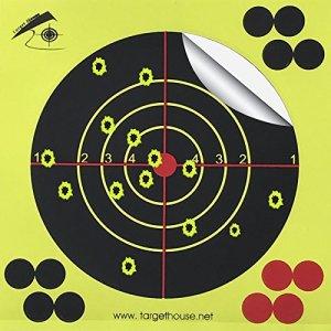 Cible Maison auto-adhésif 14x 14cm Splatter et réactives vue cibles pour Gun-pistol-rifle-airsoft-pellet Gun- Air Fusil