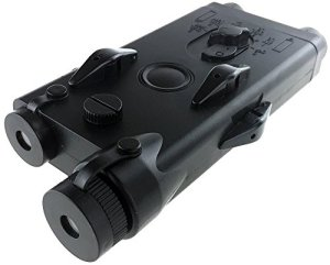 Airsoft magic Polymer PEQ-II Style Dummy Battery Box for AEG Airsoft – Black