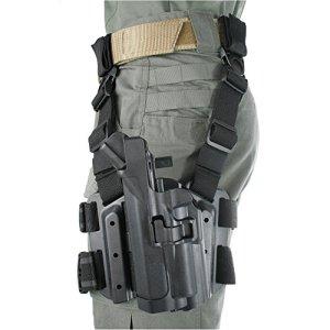 Blackhawk. Serpa niveau 3lumière roulements Tactical Holster pour xiphos NT light, Adulte, mixte, noir