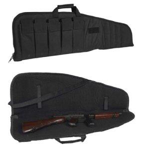Housse de fusil avec poches MILTEC 3 tailles Noir