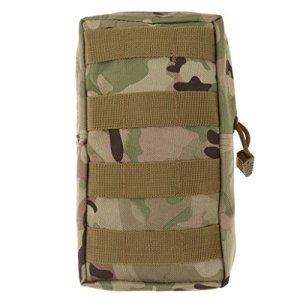 Lesley Pierce Tactique Modulaire Pochette Sac Utilitaire Accessoire Militaire (CP Camouflage)