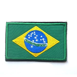 Rungao Broderie patchs Country Drapeau 3d tactique badge Moral à broder militaire Patch Craft Home, #5