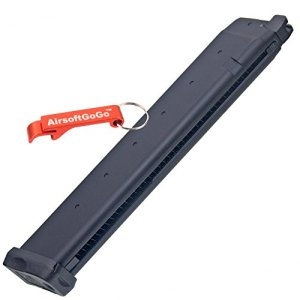 APS D-Mod Co2 40rds Longue Chargeur pour Marui G17 / G18c, APS ACP601 & D-Mod Deluxe Airsoft GBB – Porte-clés Inclus