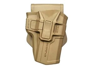 Holster Scorpus M1 Coyote ou vert, niveau 2, Fab Defence, holster holster Glock droite, li-polymère, coyote