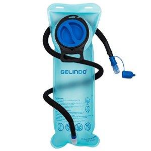 Gelindo Réservoir d'eau de réservoir de la vessie 2,5 d'hydration tube isolé détachable, remplacement de sac à dos d'hydration sans BPA pour la randonnée, le camping, le cyclisme, la chasse