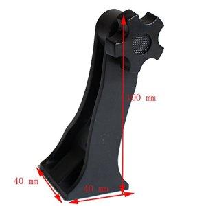 hongbest Support de conversion de télescope Weaver/Picatinny Rail Mount Laser/support de lampe de poche spécial