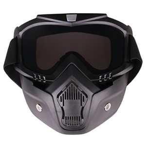 CT-Tribe Toys – Masque de Protection Tactique – Lunettes Pare-balles Classique Lunette de Tir – Résistance à Fléchette pour Nerf – Gris