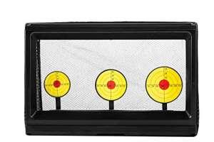 Ocean Loong 3-plate Jeu de tir jouet électrique Ciblées, automatique à ressort arrière facile Shot pour la bataille vue Bullet Practise Gun Jouets