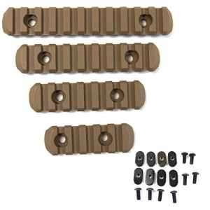 Element Polymer 4 Piece Mpoe Rail Set 20mm Auxiliary Mounting