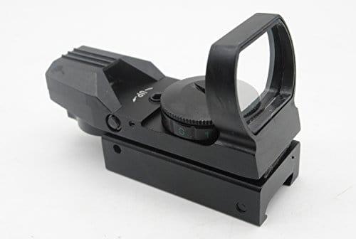 Trirock Optic Rouge Vert Dot Reflex Sight holographique avec 4Type de réticule pour 20mm Rails