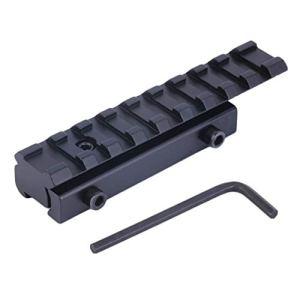 1 Set 11mm à 20mm Dovetail Weaver Picatinny Rail Mount Adaptateur Convertisseur Portée Base Livraison Gratuite Noir WEIWEITOE