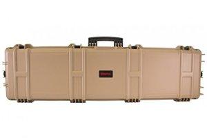 Mallette XL Waterproof TAN 137 x 39 x 15 cm mousse pré-découpée – Nuprol