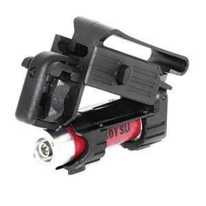 Airsoft APS Smart Shot Mini Launcher with Cartridge Shell Mini lanceur avec cartouche Coquille, Paintball Cylinder adaptor Adaptateur Cylindre Paintball, Wad, Papier d'étanchéité et boucle de ceinture