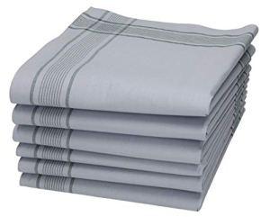 BETZ Lot de mouchoirs pour Homme XXL de l'armée Allemande 50 x 50 cm en 100% Coton 6 pcs / 12 pcs / 18 pcs (6 pièces)