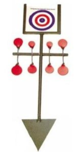 BISLEY Rouge Snooker Spinner Cible de tir carabines
