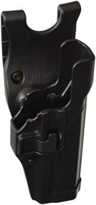 Blackhawk. SERPA Level 2Duty Holster- Finition Mate, Mixte, 44H000BK-R, Noir, Size 00 – Glock 17/19/22/23/31/32