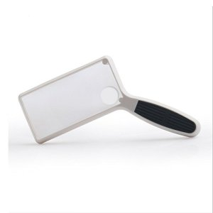 Handheld HD Magnifier Double Lens 2.5X 5X Old People Reading Magnifying Glass Watch Joaillerie Stamp Map Cosmetics Surveillance des pores Magnifying Glass