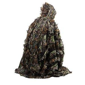 Tree-on-Life Lifelike 3D laisse camouflage cape de poncho costumes furtifs en plein air Woodland CS jeu vêtements pour la chasse de tir