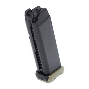 Airsoft Parts APS 23rd Co2 Magazine Mag pour Action Combat Pistol ACP601 Noir/Vert OD